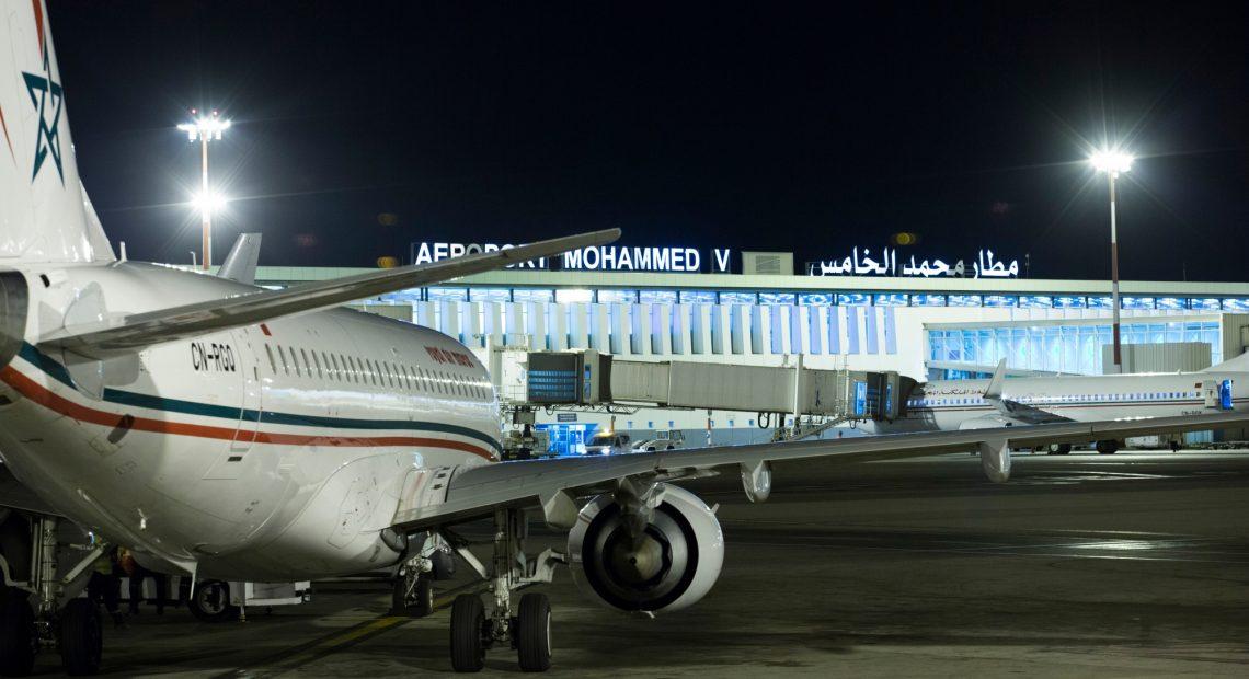 Aeroportos do Marrocos têm movimento maior