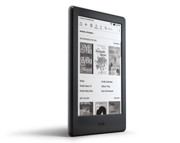 Modelo do leitor de livros Kindle