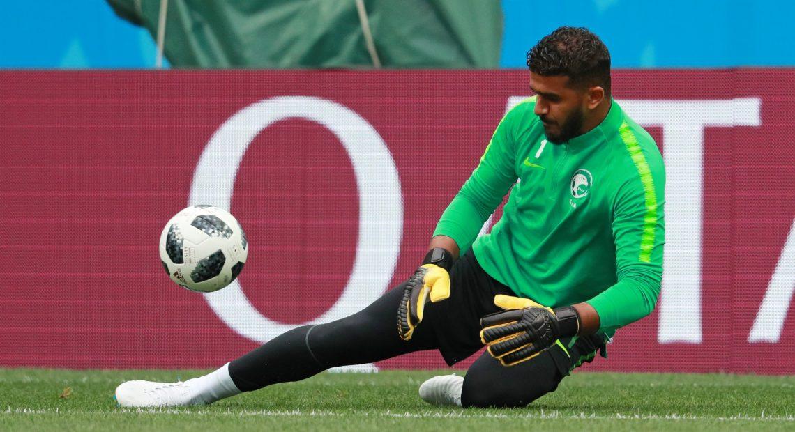 Arábia Saudita disputa partida inicial da Copa