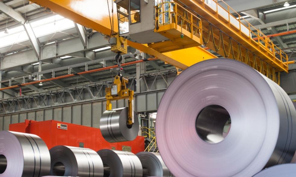 Produção de aço cresceu no Brasil
