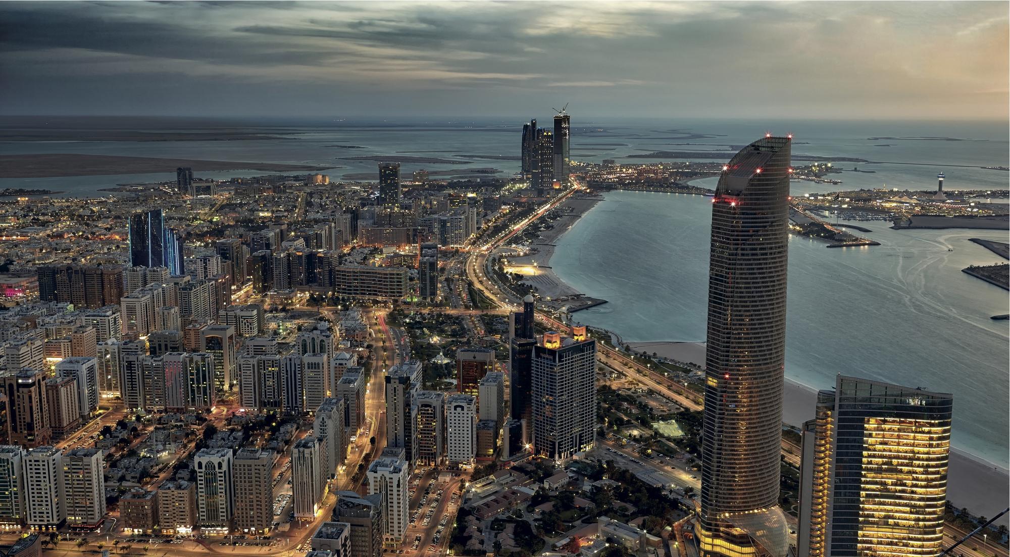 Vista geral de Abu Dhabi