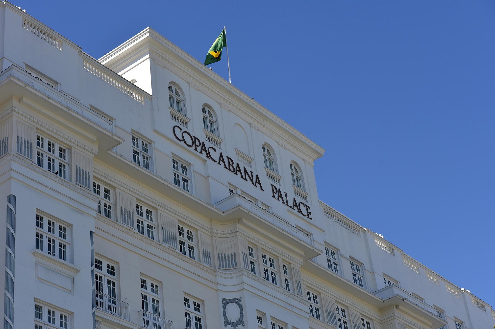 Copacabana Palace, no Rio, um dos mais famosos hotéis do Brasil