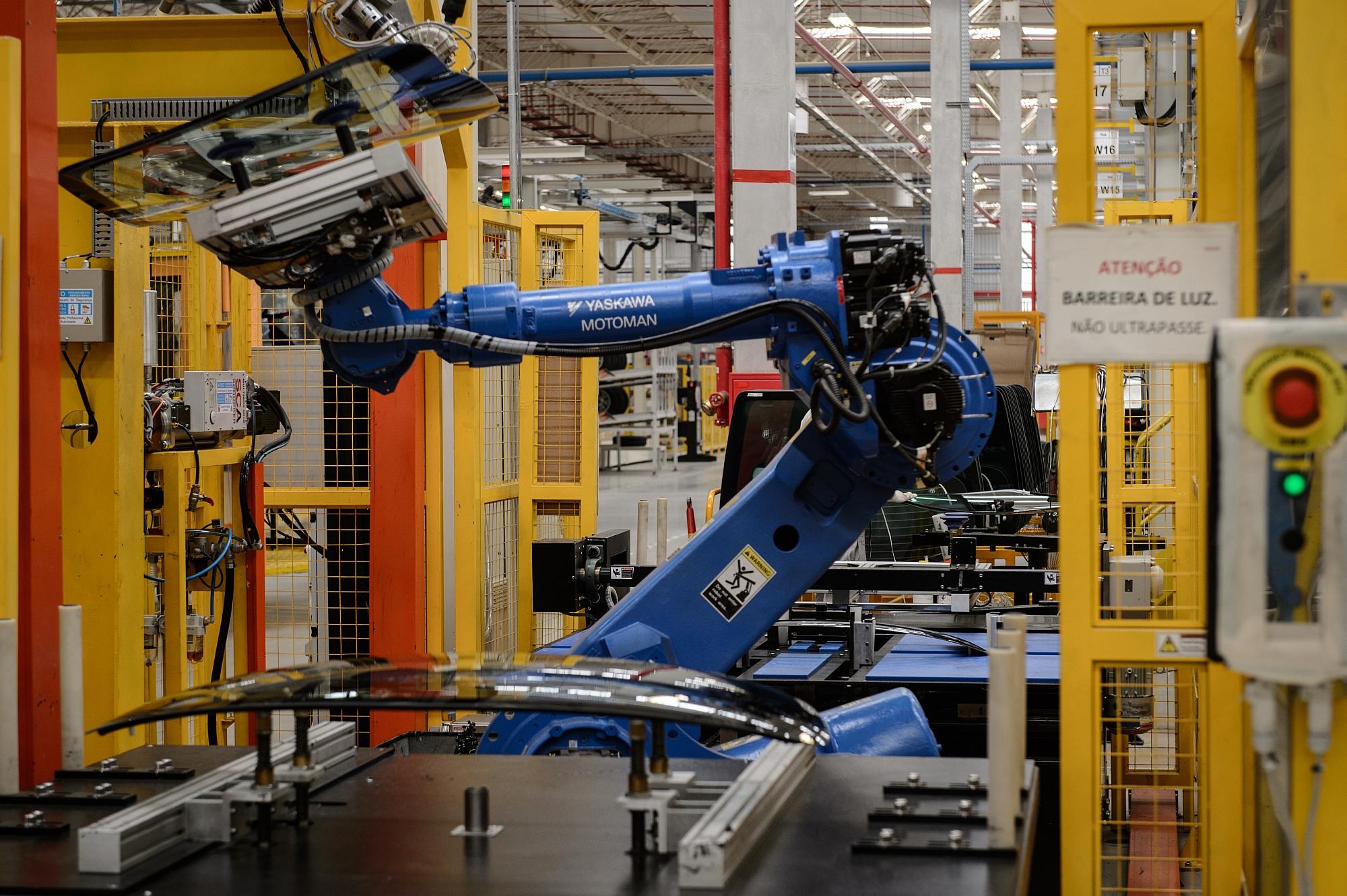Importação de máquinas também cresce