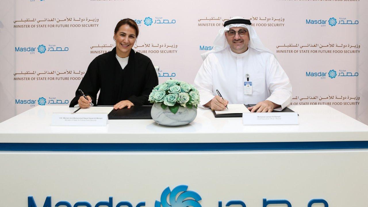 Ministra e executivo assinaram acordo sobre segurança alimentar