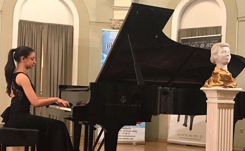 Nour Ayadi foi a grande vencedora da última edição do concurso de pianistas