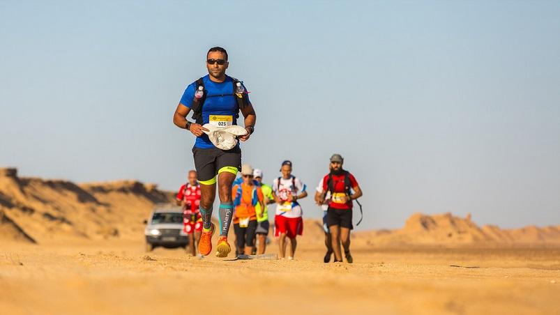 Corridas no deserto: imagem da Ultra Mirage do ano passado