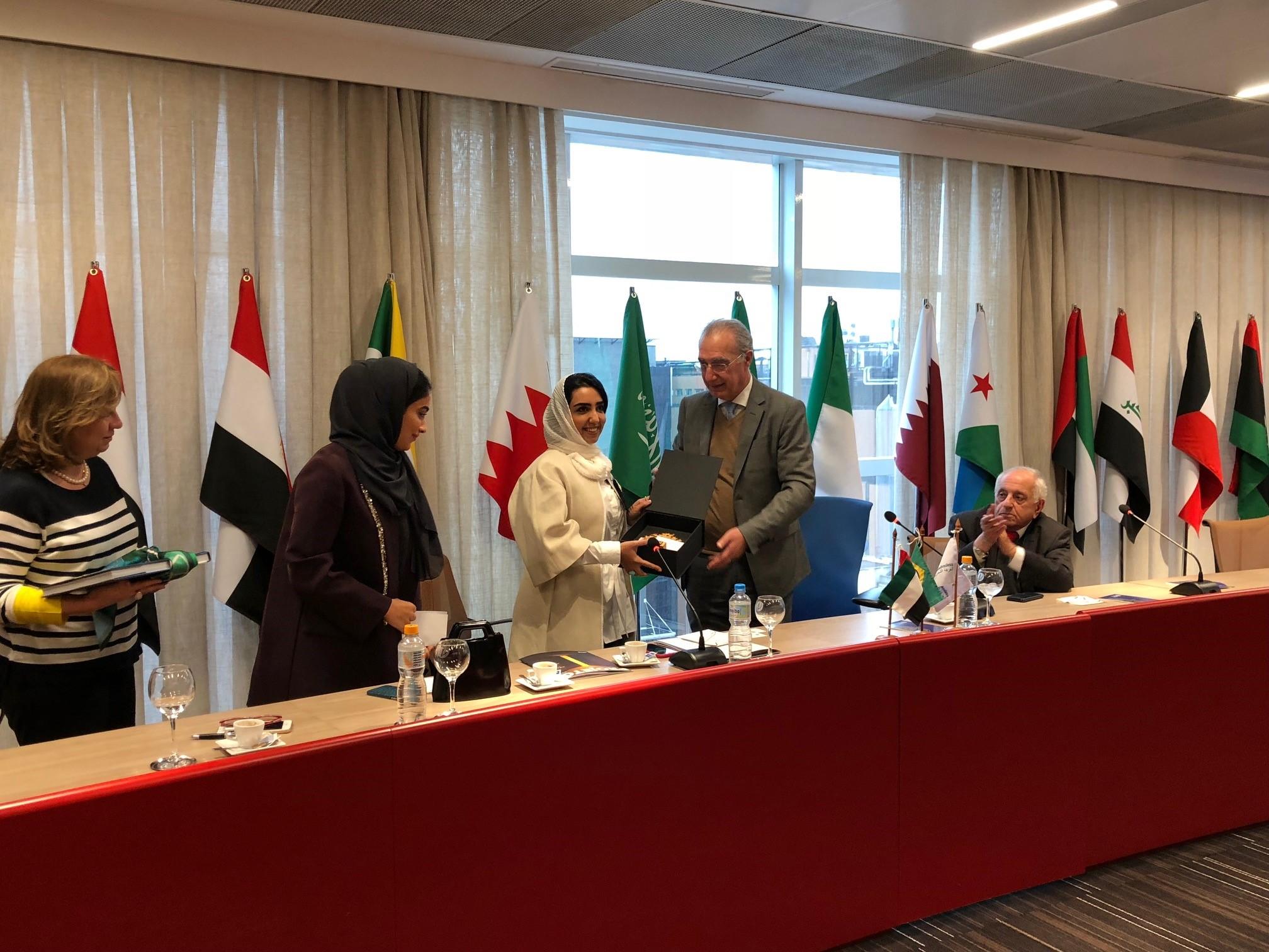 Rubens Hannun recebeu empresárias de Sharjah na Câmara Árabe