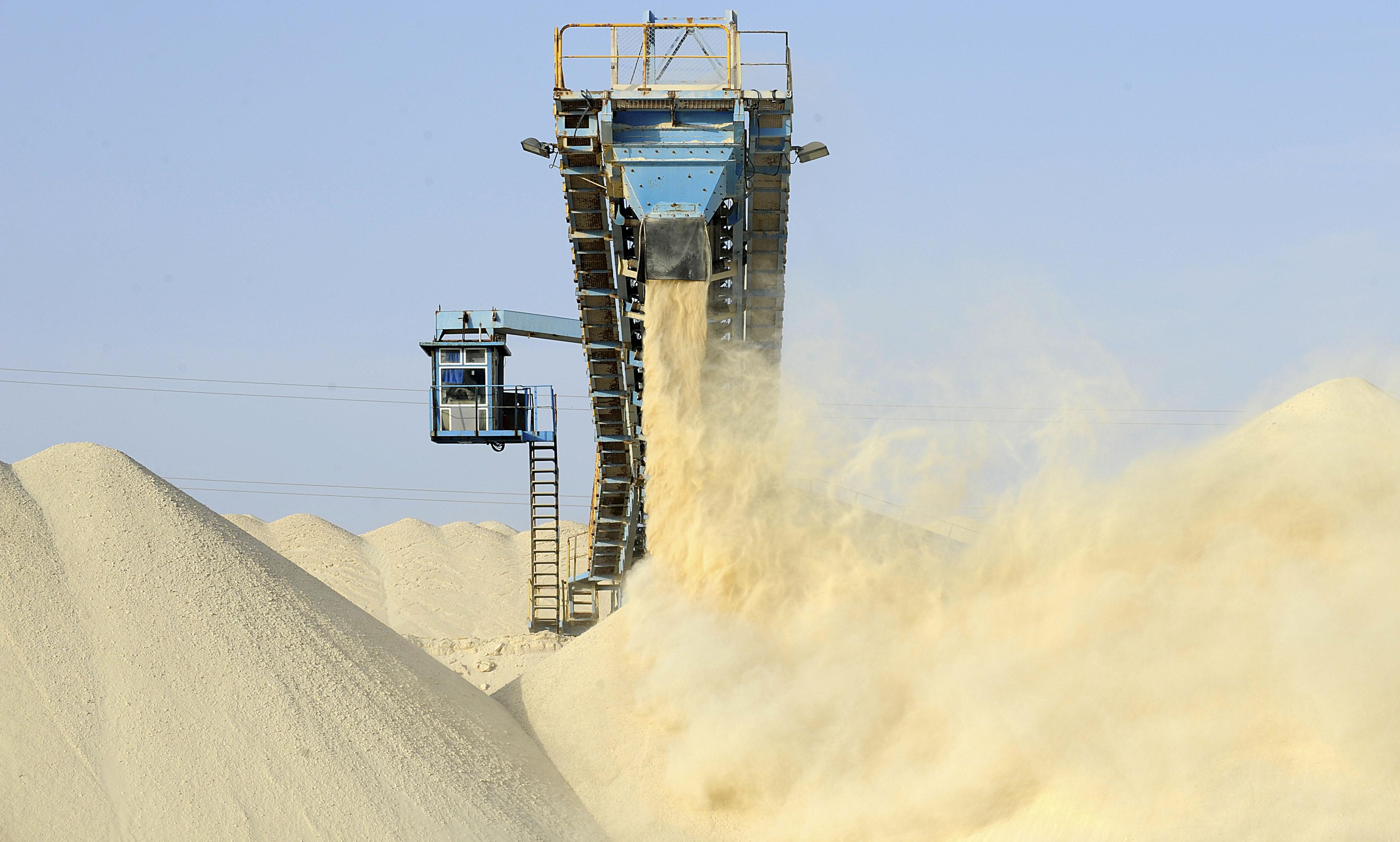 Fertilizantes: produção de fosfato da marroquina OCP
