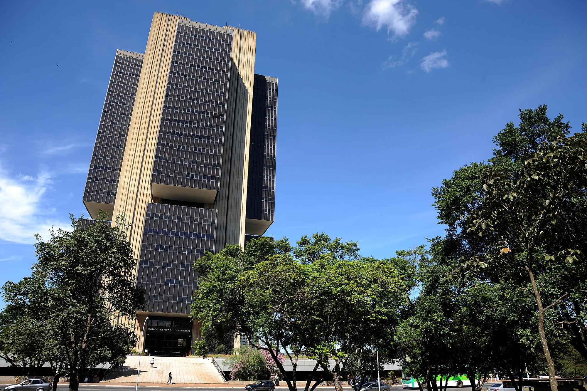 Prédio do Banco Central em Brasília. Instituição manteve taxa de juros