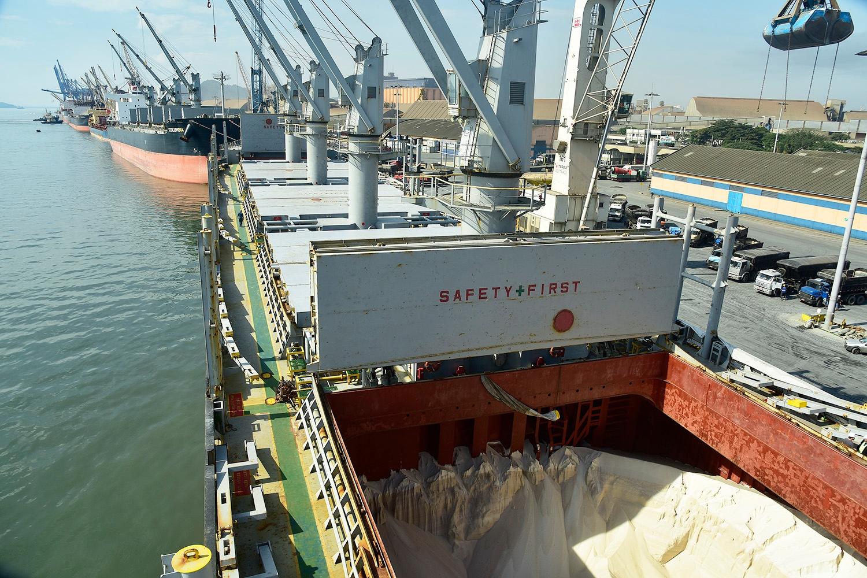 Importações de fertilizantes do Oriente Médio cresceram