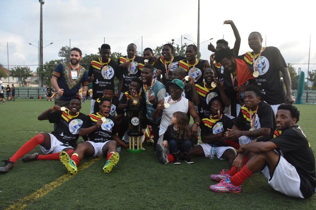 Futebol: Seleção de Angola venceu etapa do RJ da Copa dos Refugiados