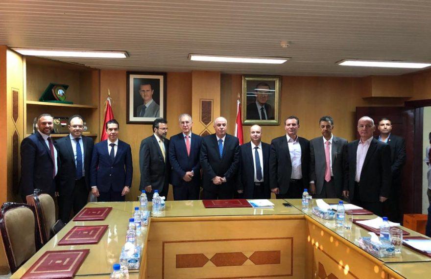 Reunião com representantes do governo da Síria