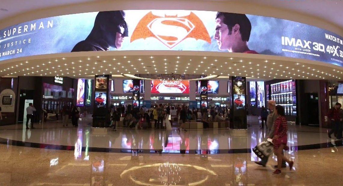 Cinemas estão em alta na região