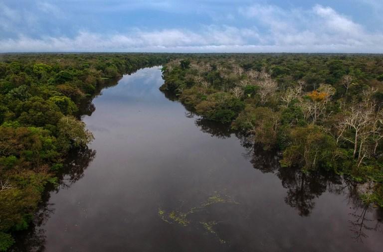Imagem de rio amazônico. Brasil quer receber a COP-25