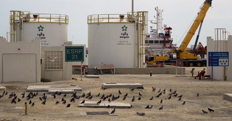 Planta da Qatar Petroleum em Ras Laffan, no país árabe