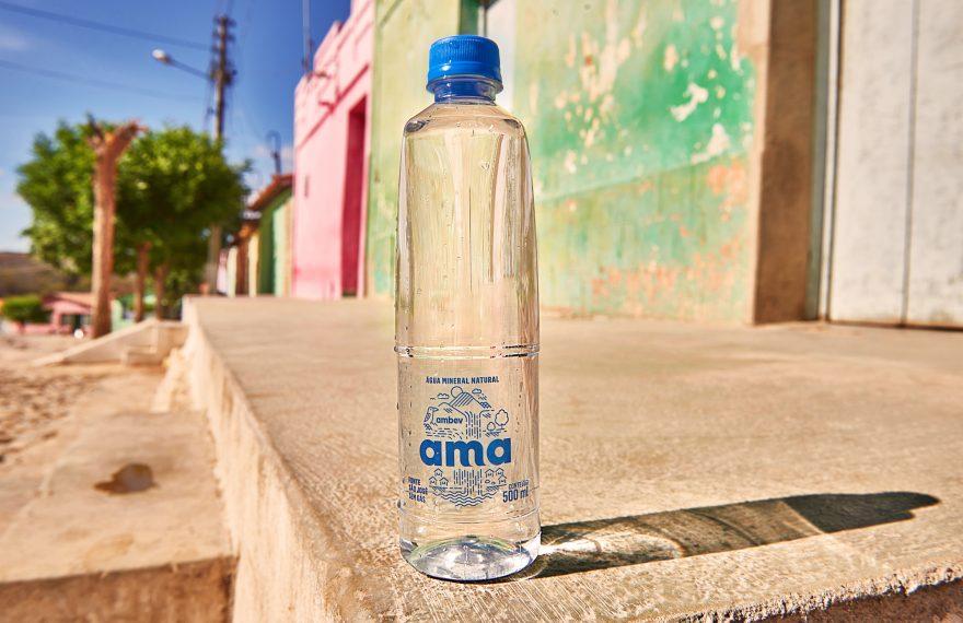 Água mineral Ama, da Ambev