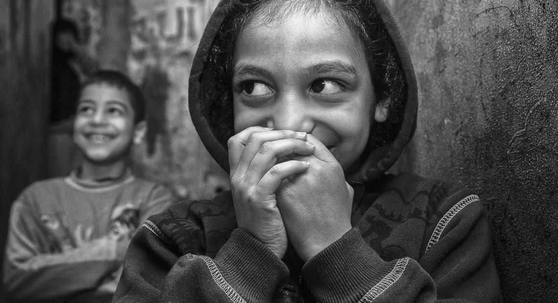 Crianças e adolescentes palestinos foram registrados pela fotógrafa Karine Garcêz