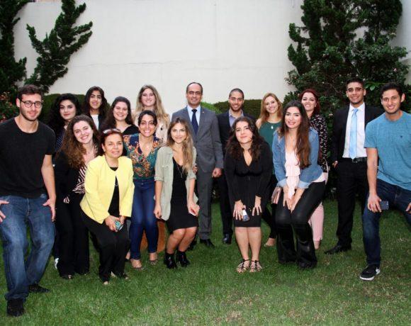 Econtro de jovens descendente de libaneses