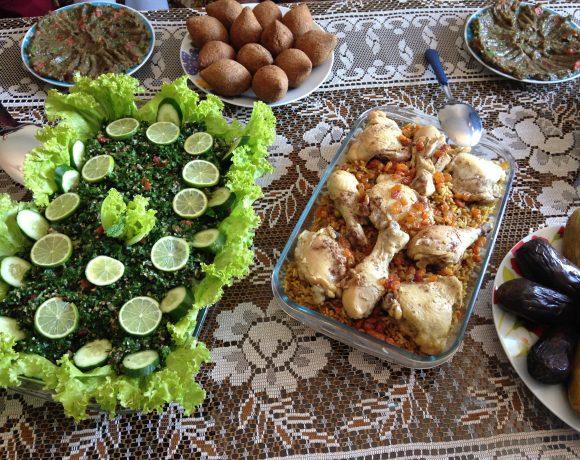 Culinária é ação de resistência para refugiados sírios