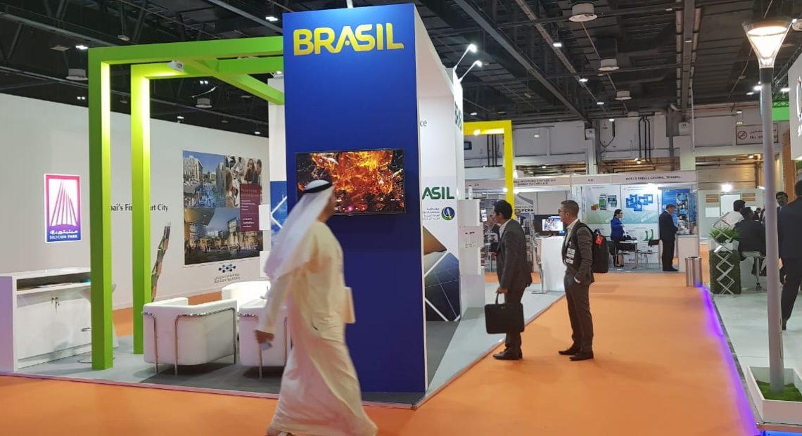Estande do Brasil na Wetex