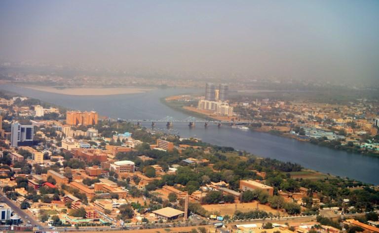 Vista geral de Cartum, no Sudão