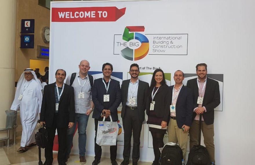 Brasileiros negociaram com empresários do Paquistão na Big 5