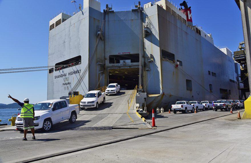 Importações de veículos cresceram na semana passada