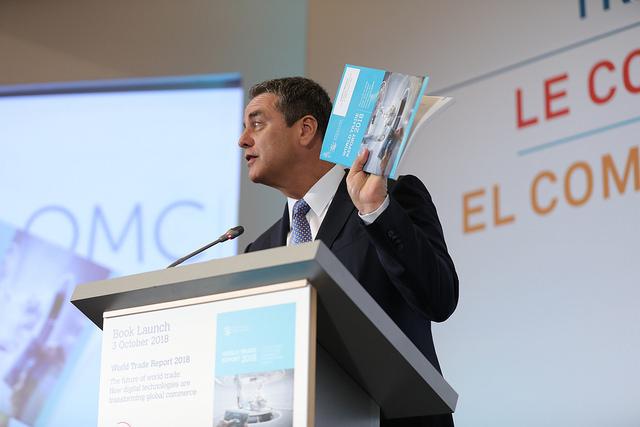 Roberto Azêvedo, diretor-geral da OMC