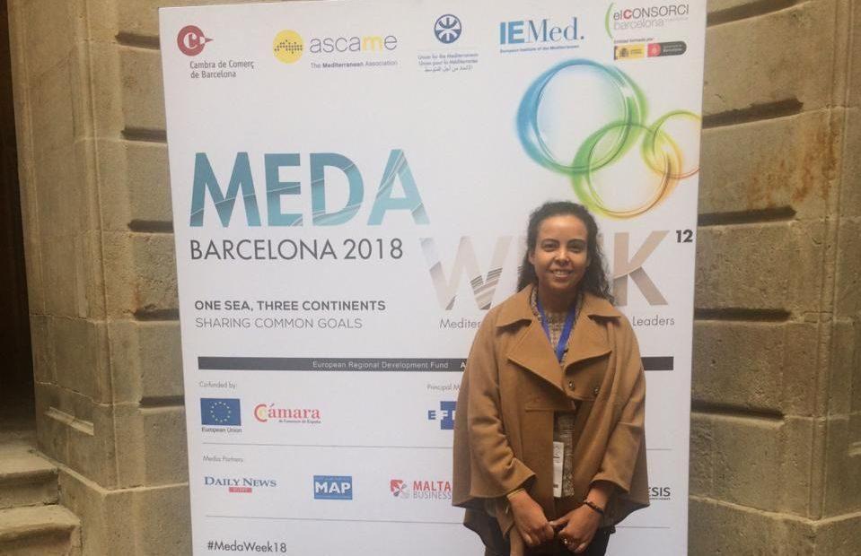Fernanda Baltazar participou da MedaWeek, conferência de países do Mediterrâneo