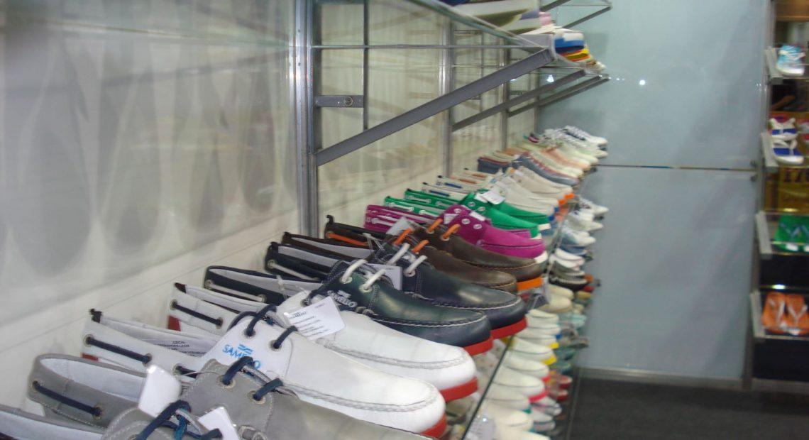 Exportação de calçados em outubro