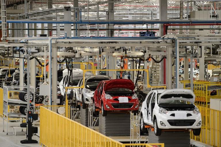 Fábrica da Nissan. Brasil produziu 2,7 milhões de veículos este ano
