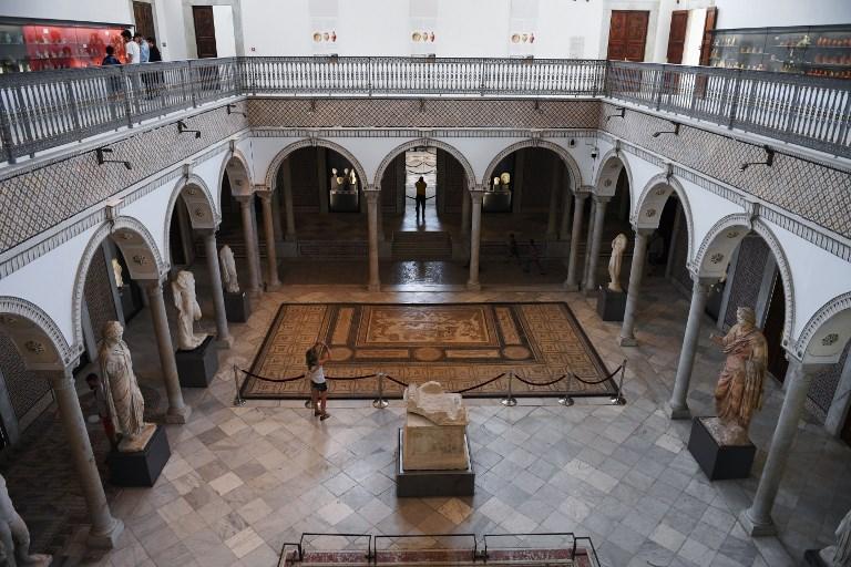 Museu do Bardo, em Túnis, na Tunísia