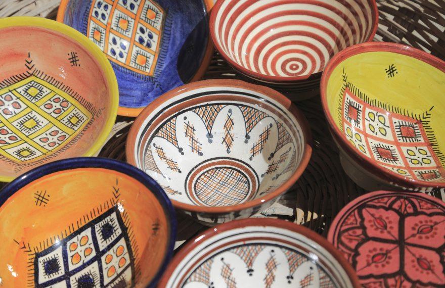 Cerâmicas estão entre os itens de artesanato mais exportados