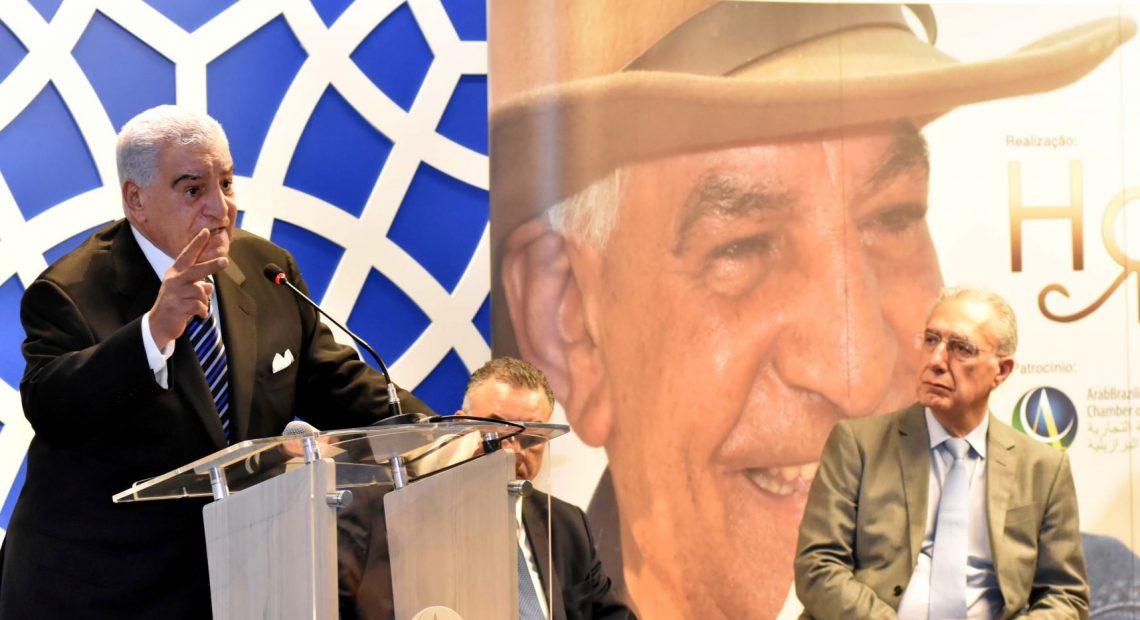 Zahi Hawass na Câmara Árabe