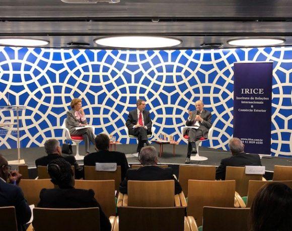 Seminário sobre política externa no Espaço Câmara Árabe