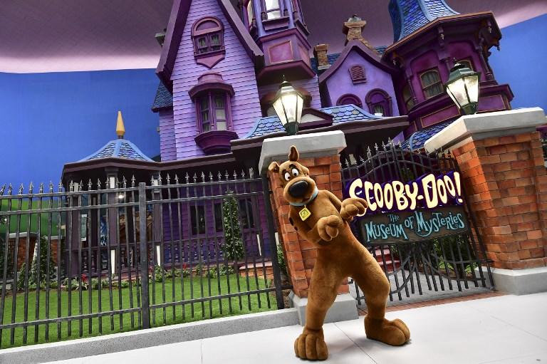 Scooby Doo no parque Warner Bros.