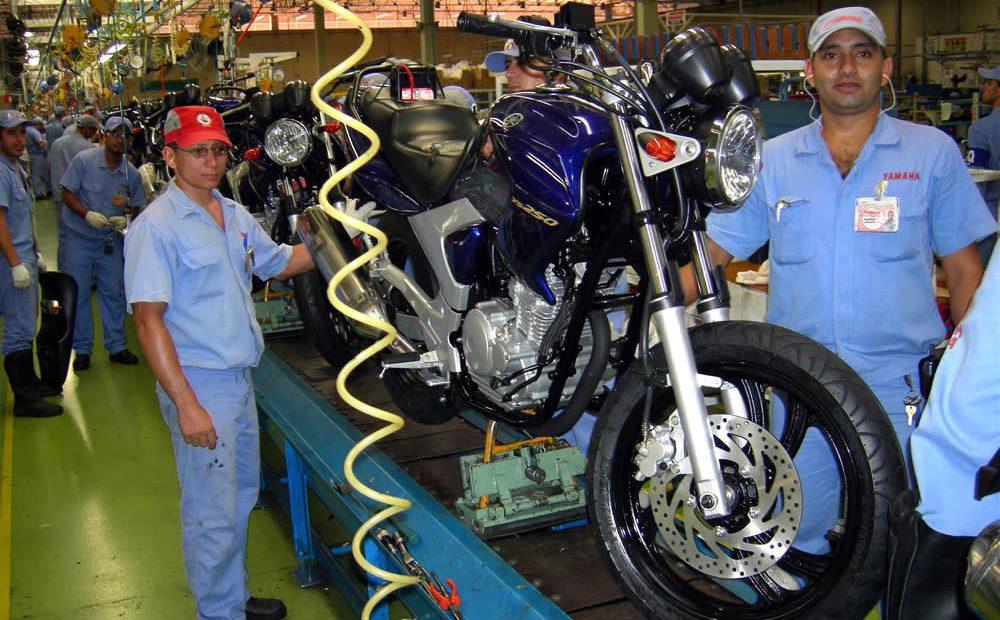 Indústria produziu quase 970 mil motocicletas de janeiro a novembro