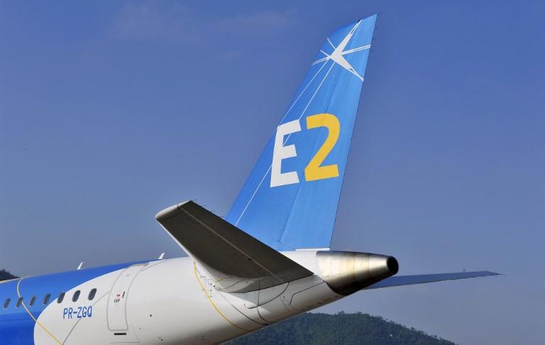 Jato comercial E190-E2 da Embraer