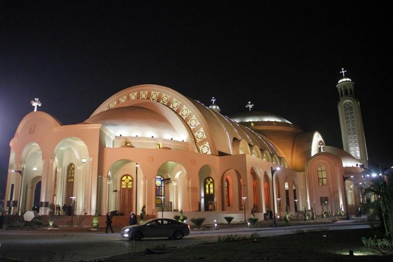 Catedral da Natividade de Cristo, no Egito
