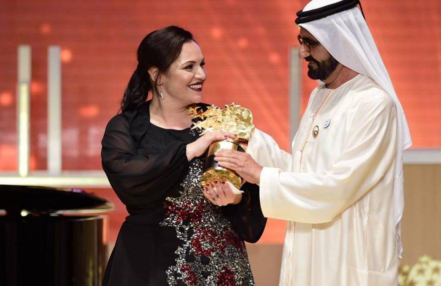 Foram mais de 30.000 inscrições e candidaturas até que se chegasse aos 50 finalistas da premiação, que é promovida pelo primeiro-ministro e vice-presidente dos Emirados Árabes Unidos, Mohammed bin Rashid Al Maktoum