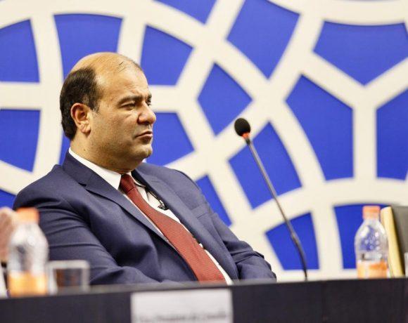 O secretário-geral da União das Câmaras Árabes, Khaled Hanafy