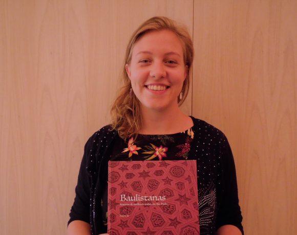 Letícia escreveu livro sobre mulheres árabes
