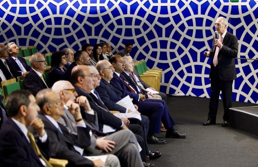 O conselho da Câmara Árabe reelegeu Rubens Hannun