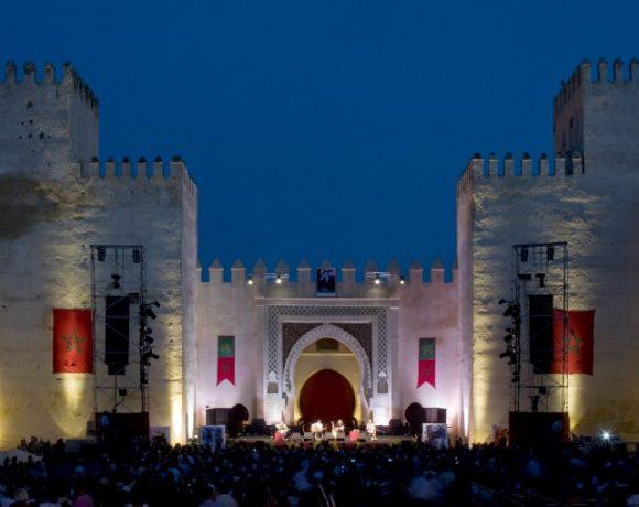 Concerto na cidade histórica de Fès, no Marrocos