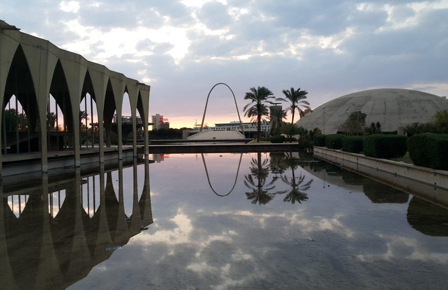 Feira INternacional de Trípoli, obra de Oscar Niemeyer