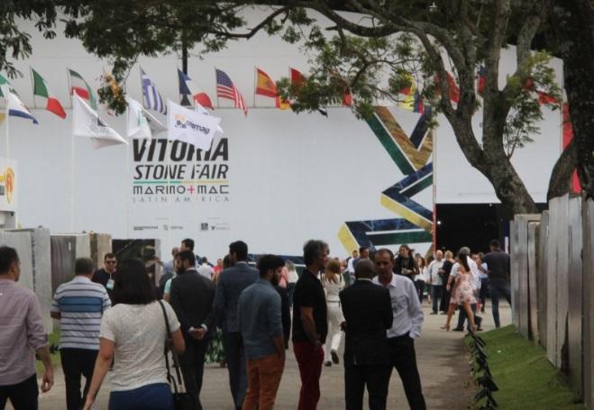 Imagem da Vitoria Stone Fair do ano passado