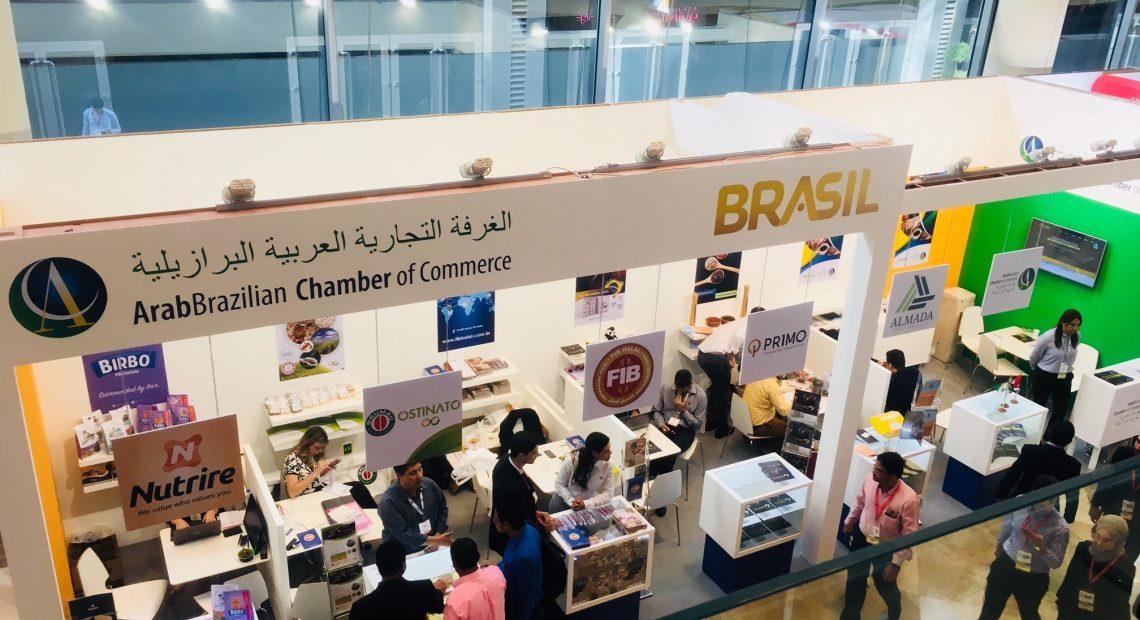 Estande da Câmara Árabe na Gulfood de 2018