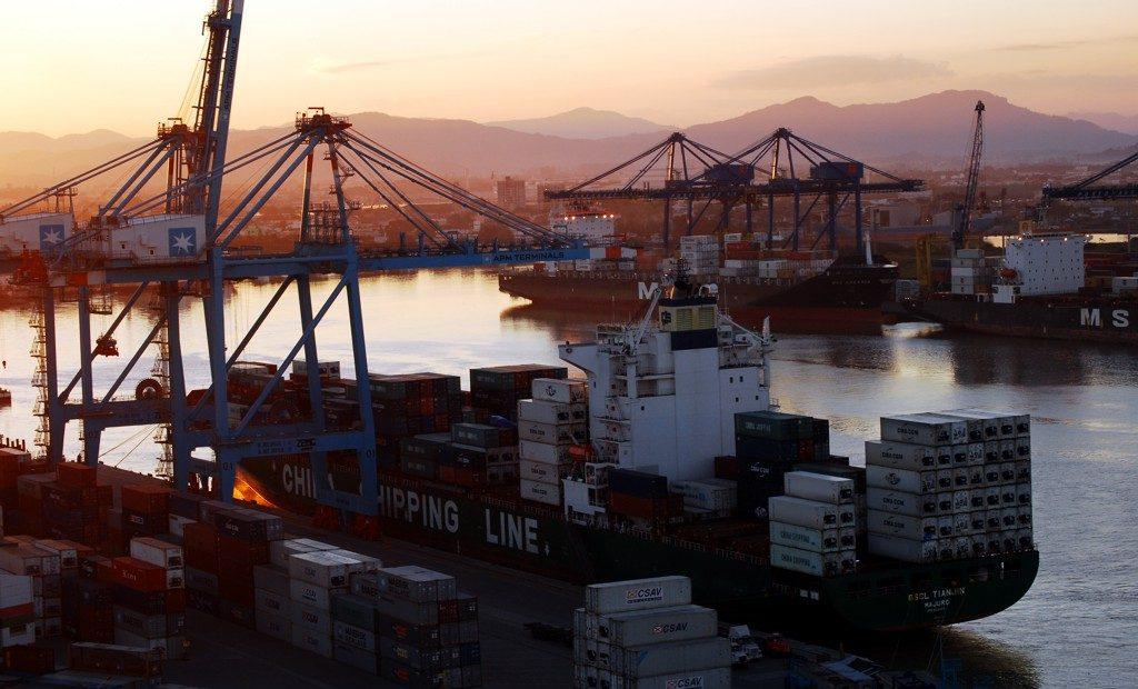 Balança comercial brasileira teve superáviti na semana passada