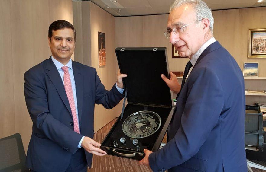 Embaixador do Kuwait e presidente da Câmara Árabe se reuniram em São Paulo