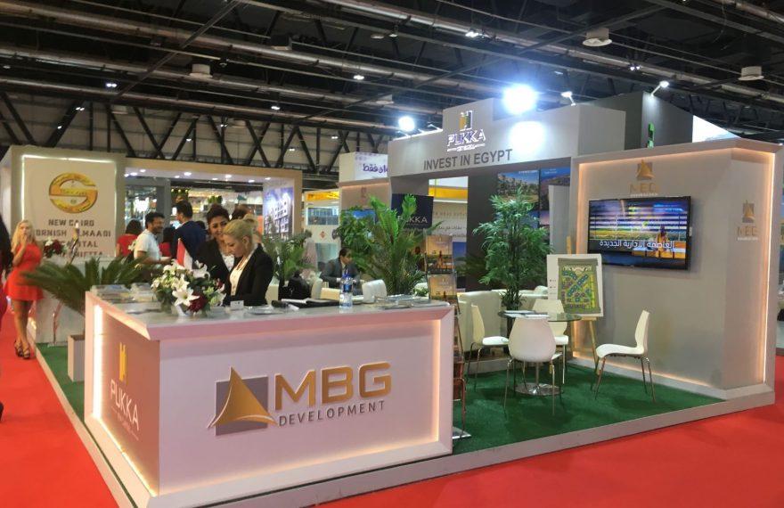 Estande do Egito no Annual Investment Meeting de 2018